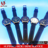 Yxl-879 vigilanza capa di sport di caso degli uomini dell'orologio della cinghia del silicone del fornitore dell'OEM Cina grande