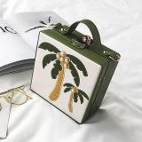 2017 de nieuwe Zakken van de Schouder van de Doos van de Kokospalm van het Borduurwerk van de Handtas van de Manier van het Ontwerp voor Dame Sy8468