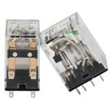투명한 덮개 산업 13f 릴레이 2c 접촉 양식, 8개의 핀 전자기 릴레이 구리 접촉 (빛 없는 가격)