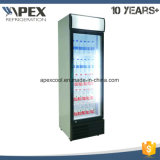 단 하나 문 직접 냉각을%s 가진 강직한 음료 전시 냉각기 냉장고