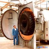 Autoclave de borracha do Vulcanization do aquecimento elétrico com os côordenadores disponíveis ao serviço