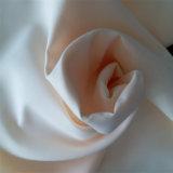 Tela poli girada 100% árabe da tela da veste da cor branca para Thobes