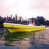 26 pies de fibra de vidrio Panga barcos de pesca en Venta