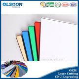 Olsoon Lasersnijden CNC Dienst van de Gravure Acryl Mirror Sheet Gekleurde Spiegel Plastic Sheet