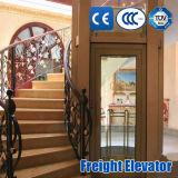ISO9001乗客の貨物病院の機械部屋のない観光のホーム別荘のエレベーター