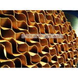 Matériel de serre chaude 7090/5090 garniture de refroidissement par évaporation de peigne de miel