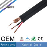 Câble coaxial Sipu Factroy Price Rg59 avec câble CCTV Power