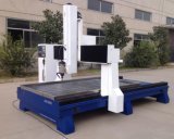 Heißer Verkauf! ! 4 Mittellinien-Granit-Glas CNC, der Maschinen-Preis schnitzt