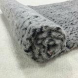 Tessuto delle lane del jacquard della stampa del leopardo in pronto