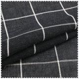 Assegni bianchi & neri di 100% del cotone per le camice