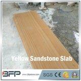 Lowes оценивает желтый деревянный сляб песчаника вены для плиток пола