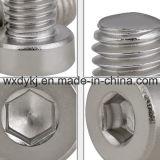 ステンレス鋼304の六角形のソケットの中国DIN7984からの薄いヘッド帽子ねじ工場