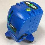 Herramienta de mano láser Producto Danpon Cruz Verde de haz láser de línea Nivel Vh88 herramienta Emparejado con montaje en pared