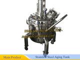 Tanque da reação do reator do aço inoxidável de 3000 embarcações do litro S.S 316