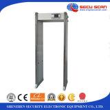 Tener en la caminata común a través de puerta del detector de metales del marco de puerta de las zonas del detector de metales AT-300S 33