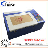 탁상용 소형 이산화탄소 Laser 조각 및 절단기 Ck400