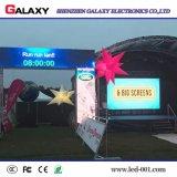 Visualización video del alquiler P3.91/P4.81/P5.95/P6.2 LED del precio al por mayor/pared/pantalla al aire libre a todo color arqueadas para la demostración, etapa, conferencia, acontecimientos