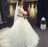 Тонкие Половин-Втулки с шнурка плеча делают по образцу a - линию платье венчания