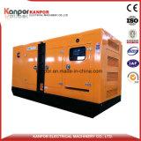 conjunto de generador eléctrico diesel silencioso insonoro de 625kVA 500kw Doosan