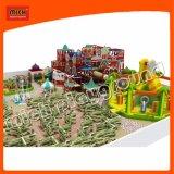 Campo de jogos interno do labirinto macio de Mich para o campo de jogos dos miúdos