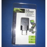 熱い販売USBの充電器のまめのパッキングEU私達タイプおよび旅行USBの充電器
