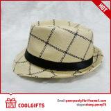 Chapéu de palha unisex de Panamá do projeto novo (CG198)