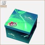 La torta de encargo blancos plegables cajas y embalajes caja de torta del Embalaje