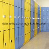HPLのコンパクトの積層物の更衣室の固体貯蔵用ロッカー