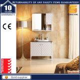 高品質の純木の壁に取り付けられた浴室用キャビネットの単位