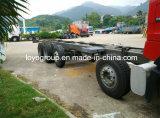商品の交通機関のためのSinotruk HOWO T5g 340HP 10X4の貨物トラック
