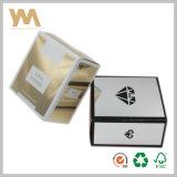Het Vakje van de Gift van de Luxe van het karton met het UV het Eindigen Gilter Vakje van het Document voor Parfum