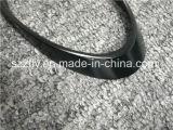 Profilo di alluminio nero anodizzato luminoso dell'espulsione con lavorare