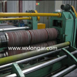 Ligne de découpage en métal redressant la machine