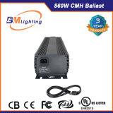 Luz hidropónica 860W ESCONDIDO reator do dispositivo elétrico de iluminação com aprovaçã0 do UL