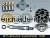 Uchidaシリーズピストン・ポンプのエンジン部分Ap2d25のプランジャポンプシリンダブロック弁の版の予備品