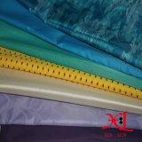 40d tela de nylon impermeable brillante de plata para chaqueta / chaqueta de invierno