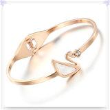 De Armband van het Roestvrij staal van de Juwelen van de Manier van de Juwelen van het kristal (BR590)