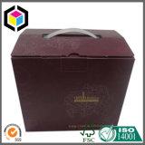 A cor feita sob encomenda fêz a caixa da caixa do transporte do papel ondulado