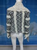 가을과 겨울 카디건 형식 여자 스웨터 여자 큰 우연한 뜨개질을 하는 스웨터