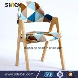 Présidence en bois Sbe-Cy03314 de bras de loisirs de meubles de pièce de restaurant d'hôtel en bois solide