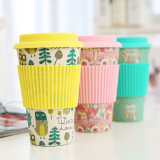 Bamboo чашка волокна с Eco-Friendly (YK-BC4056)