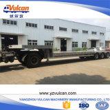3 Wellen-Luft-Aufhebung-ausdehnbarer niedriger Bett-Traktor-LKW-Schlussteil