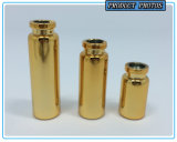 3ml 5ml 10ml Gold and Silver UV Plating Glass Tube Bottle