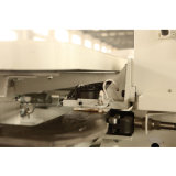 Máquina de borda de fita Loft com motor servo AC
