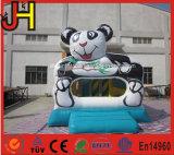 パンダの膨脹可能な城の膨脹可能なパンダの警備員