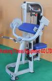 macchina di concentrazione del martello, strumentazione di ginnastica, forma fisica, lifefitness, piedino incline Curl-DF-7017