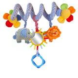 Brinquedo de suspensão do bebê do luxuoso com som para recém-nascido