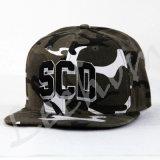 casquettes de baseball de Snapback de camouflage de la broderie 3D
