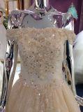 Da chegada da princesa Champagne vestido 2017 de casamento novo