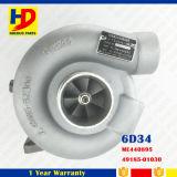 6D34 de Turbocompressor van de dieselmotor (ME440895 49185-01030)